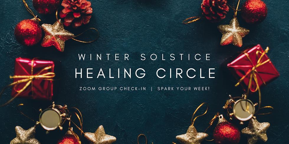 """Winter Solstice Healing Circle"" - Spark Your Week! Members"