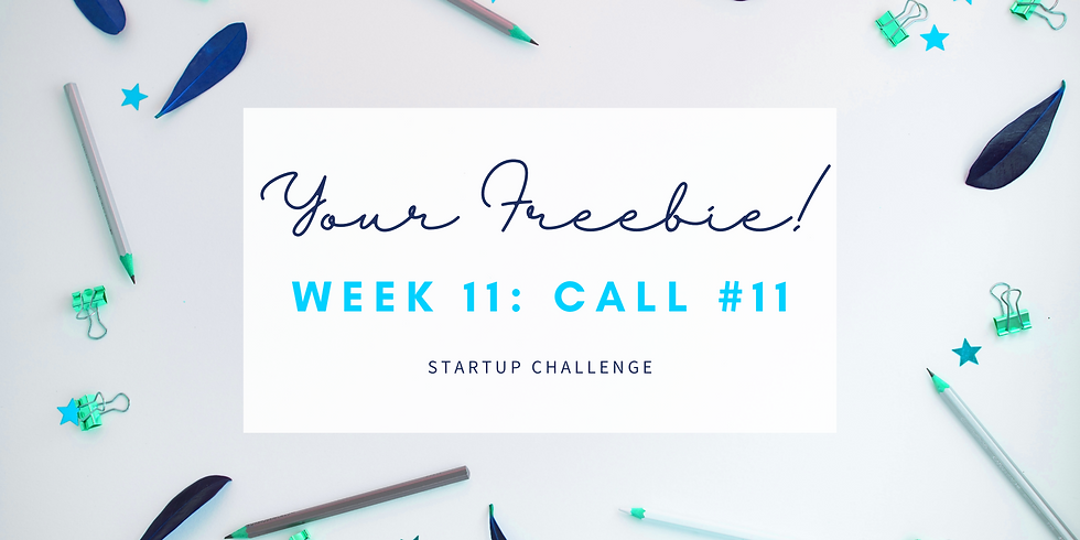 """""""Your Freebie!"""" Call #11 - Empath Business Startup! Members"""