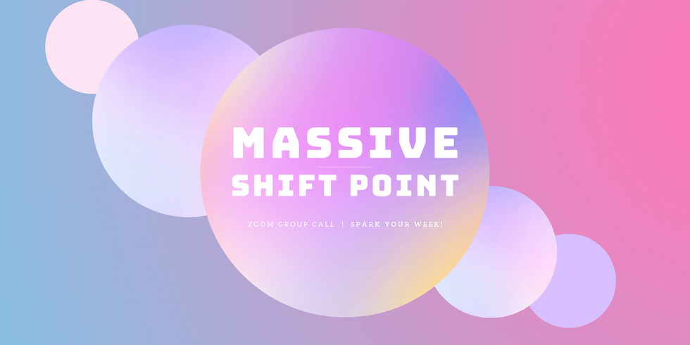 """""""Massive Shift Point"""" - Spark Your Week! Members"""