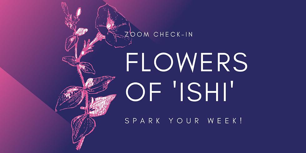 """""""Flowers of 'Ishi'"""" - Spark Your Week! Members"""