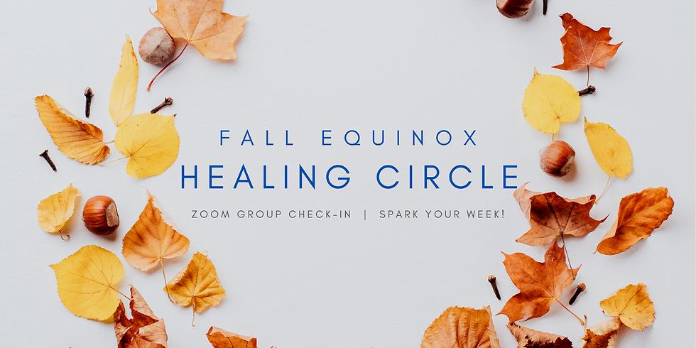 """Fall Equinox Healing Circle"" - Spark Your Week! Members"