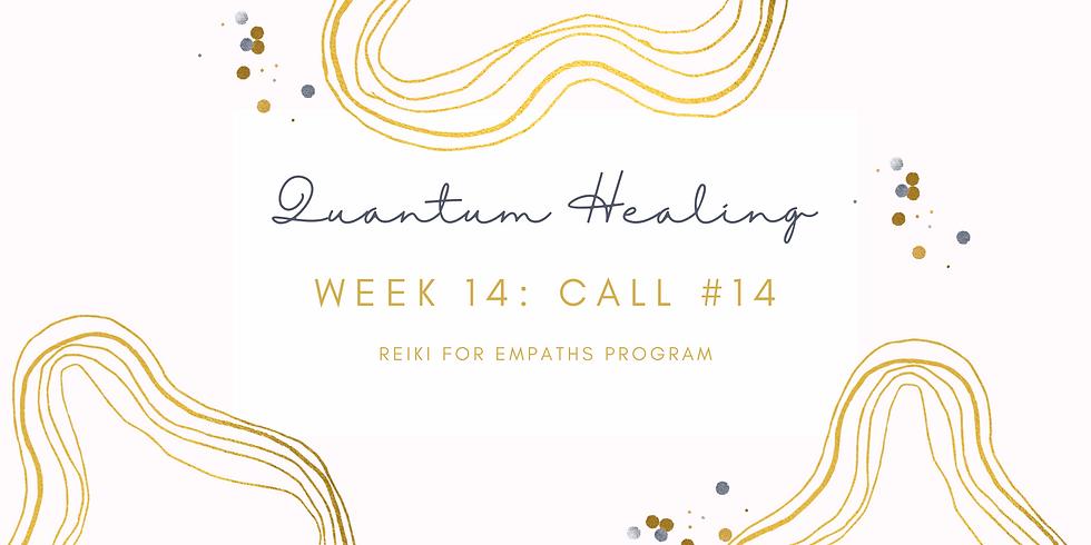 """Quantum Healing"" Call #14 - Reiki for Empaths Program Members"