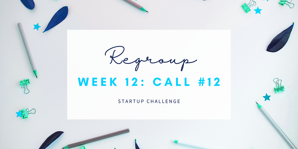 """""""Regroup"""" Call #12 - Empath Business Startup! Members"""