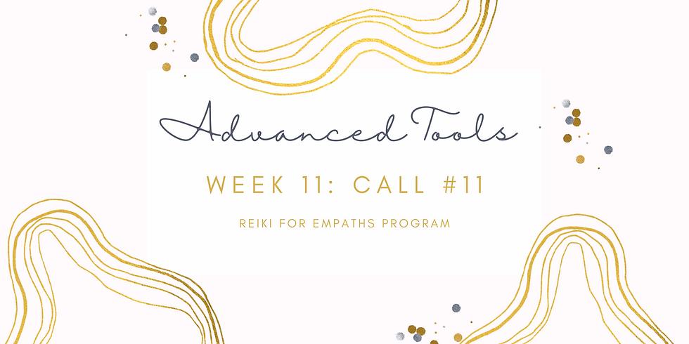 """Advanced Tools"" Call #11 - Reiki for Empaths Program Members"