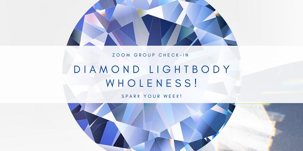 """Diamond Lightbody Wholeness"" - Spark Your Week! Members"