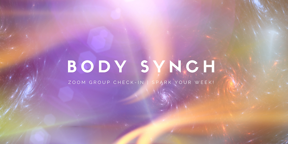 """""""Body Synch"""" - Spark Your Week! Members"""