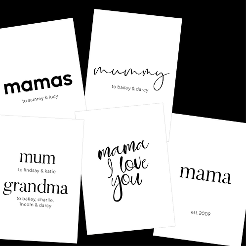 $20 GIFT VOUCHER - Mothers Day Print