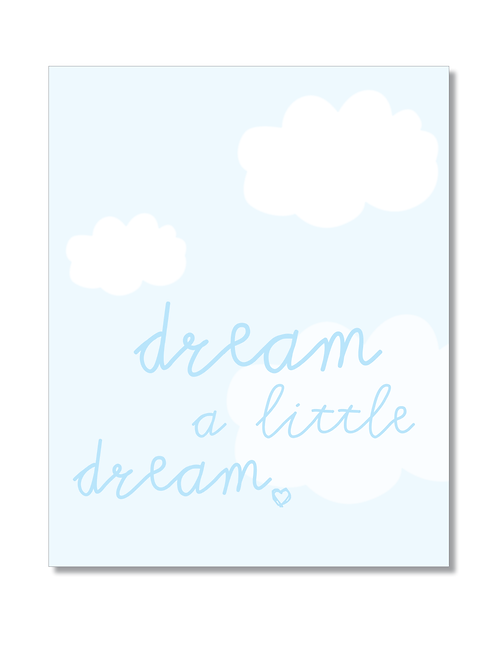 8x10 PRINT 'Dream a little dream'