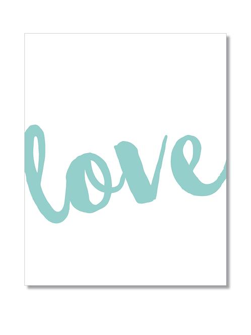 8x10 PRINT 'Love'
