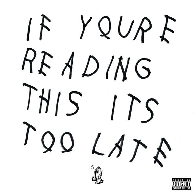Album cover art: Mixtape by Drake, released 2/13/15 Cash Money Records