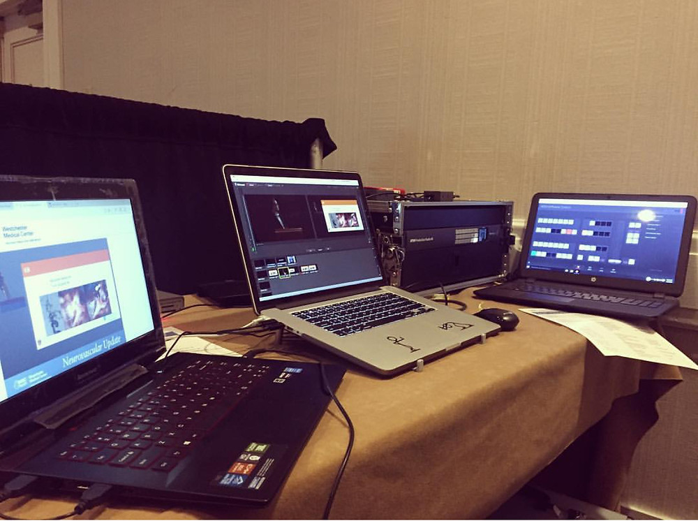 Live streaming with a computer using Wirecast