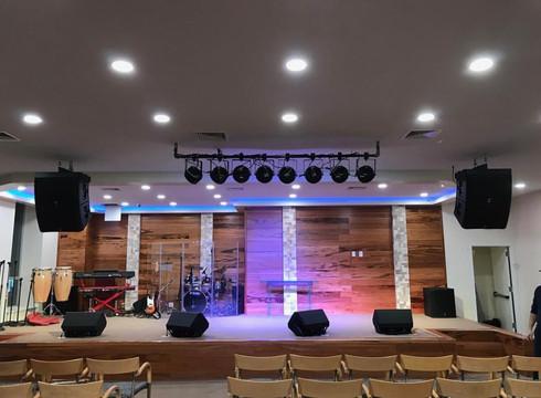 church installation