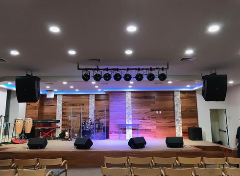 church installation