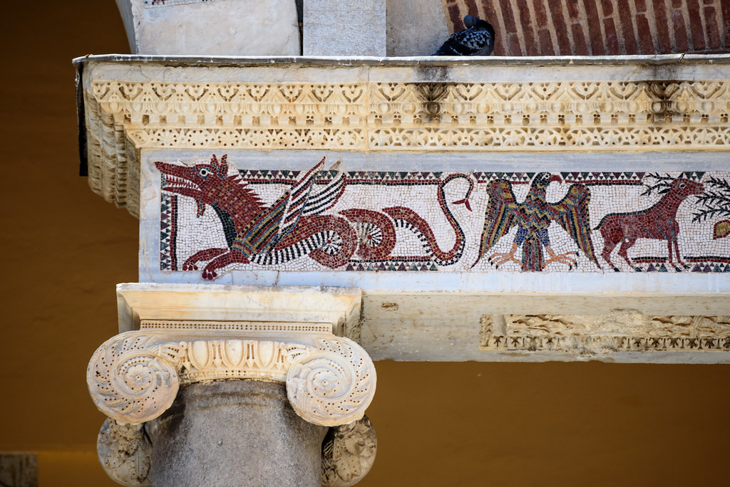 dettaglio mosaici