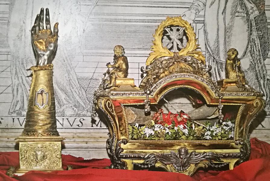 Reliquiari San Cesareo Diacono