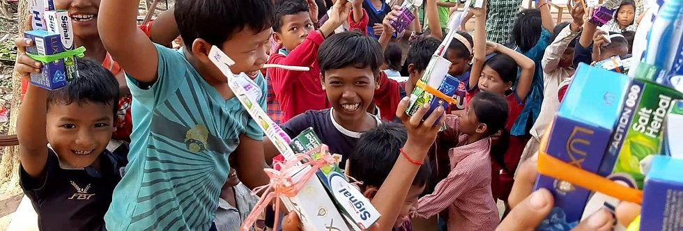 Camboya: Pago de Inscripción