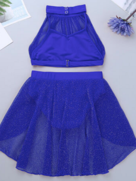 Two piece Blue