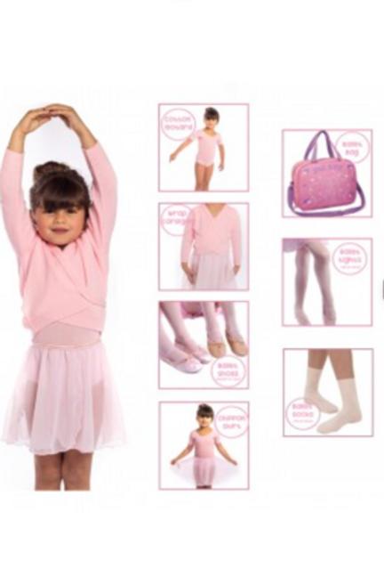 CHILDREN UNDER 11 BALLET PACKS