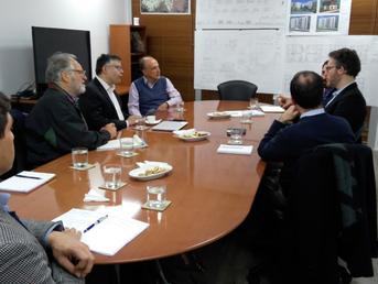 Reunión de representantes de la Embajada de Israel y CODESUP