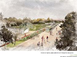 imagenes del futuro parque lo prado