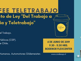 Work Coffee sobre el Proyecto de Ley Del Trabajo a distancia y Teletrabajo