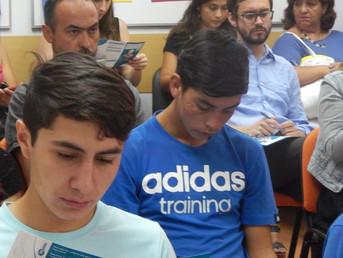 Melón inaugura curso de capacitación para jóvenes que infringieron la ley