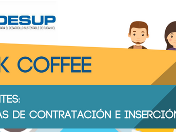 "Work Coffee "" Inmigrantes : Políticas de Contratación e Inserción Social"""