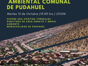 """Webinar """"Actualización Ordenanza Ambiental Comunal de Pudahuel"""""""