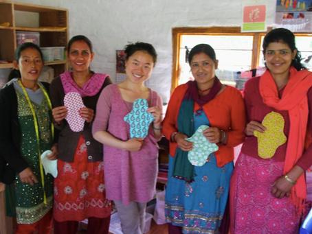 Wendy vertelt meer over een project rond eco-vriendelijke vrouwenhygiëne
