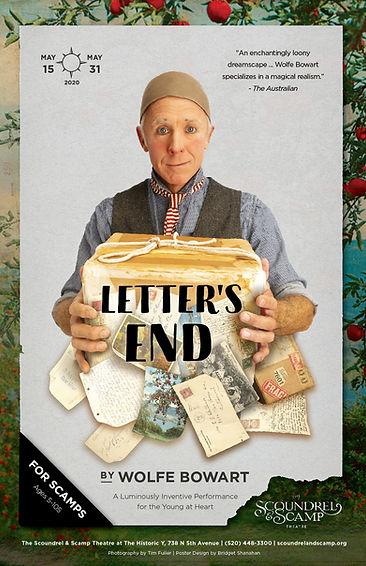 Letter's End at The Scoundrel & Scamp Theatre, Tucson AZ