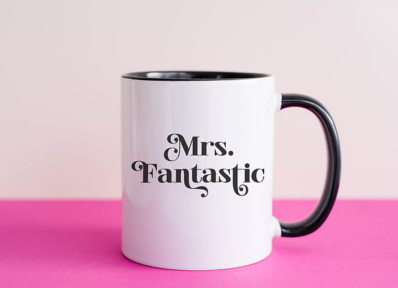 Mrs. Fantastic - Coffee Mug