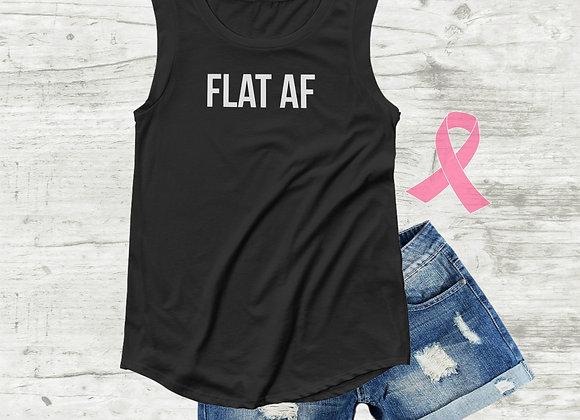 FLAT AF - Tank Top