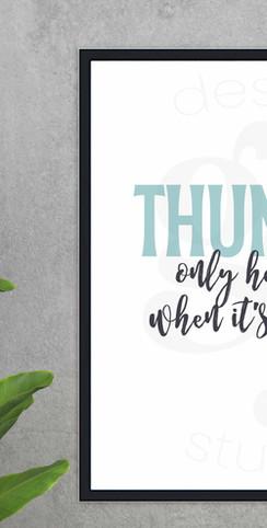 Fleetwood Mac Thunder Lyrics Printable W