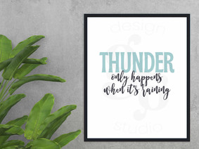 Fleetwood Mac Thunder Lyrics Printable W