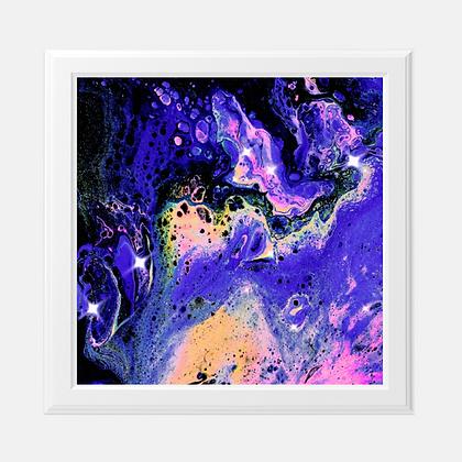 "Galactic Space - 8x8"" Art Print"