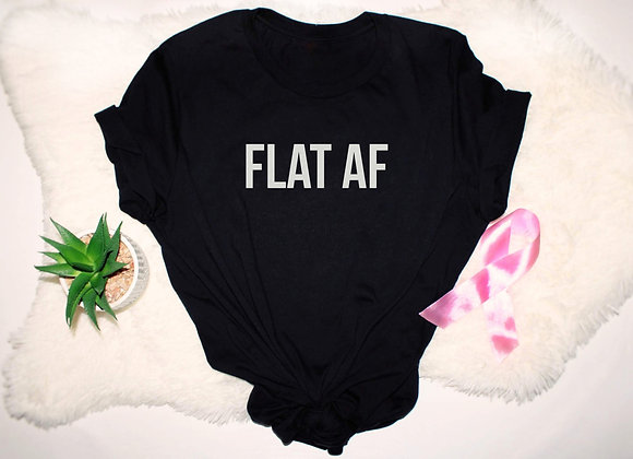 FLAT AF - Graphic Tee