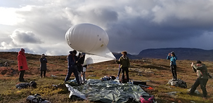High Altitude Bio-Prospecting work group at BioArtSociety's Field_Notes, Kilpisjarvi Finland