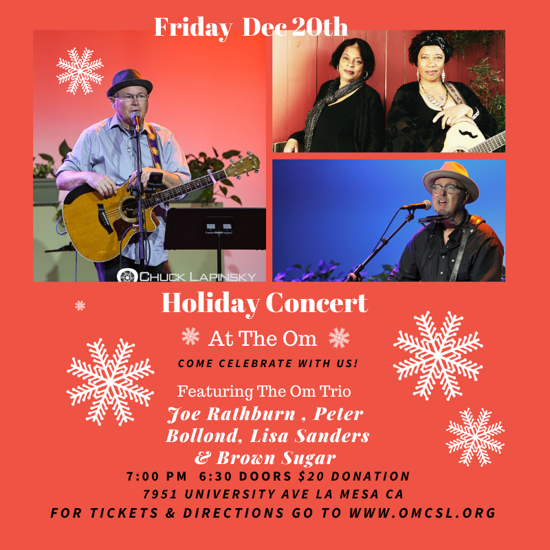Om Holiday Party Flyer (1)