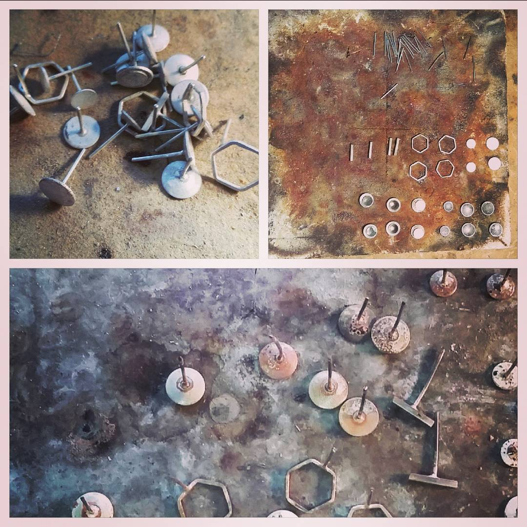 Stud Earring Production
