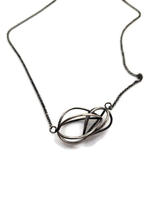 Caged Bulb Necklace