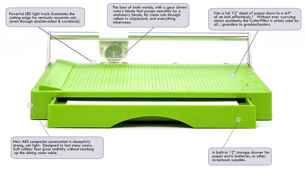 CutterPillar Pro paper trimmer