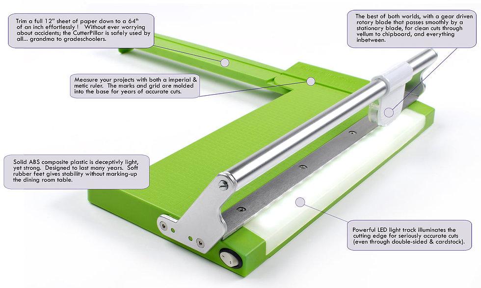 CuterPillar Crop portable paper trmmer