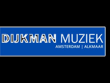 Dijkman Muziek is our new dealer in Amsterdam