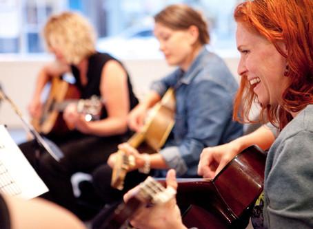 Gratis proefles bij Guitar College in Amersfoort