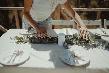 сватбена декорация, украса