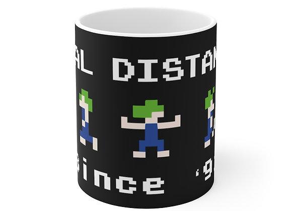 Social Distancing Since '91 Gamer Mug