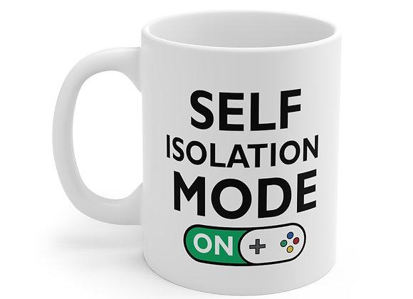 Self Isolation Mode ON Mug