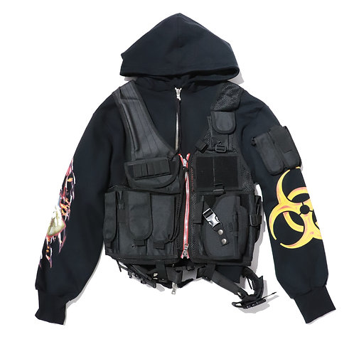 CAVIALE / OUTERWEAR HOODIE