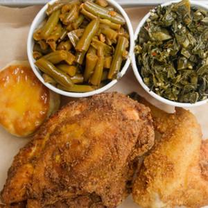 Fried Chicken Platter