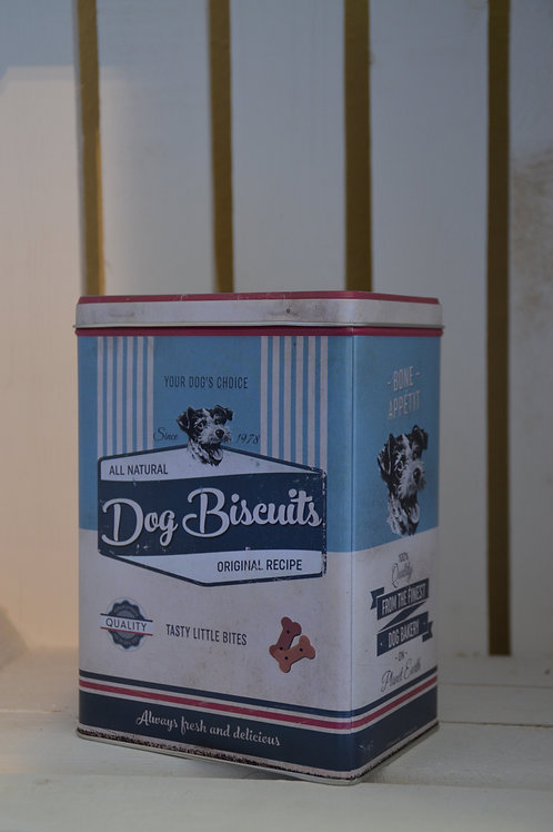Blechdose: Dog Biscuits